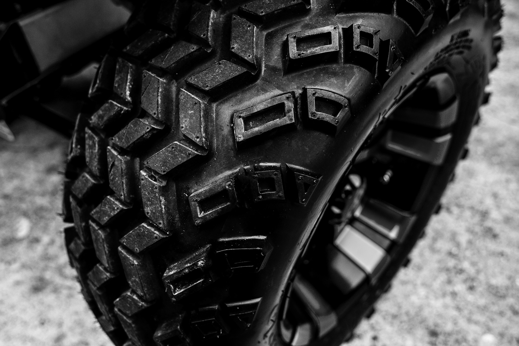 golf cart accessories: new tires and rims